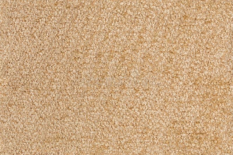 Sömlös textur av vävd brun polyestermöblemangstoppning arkivbilder