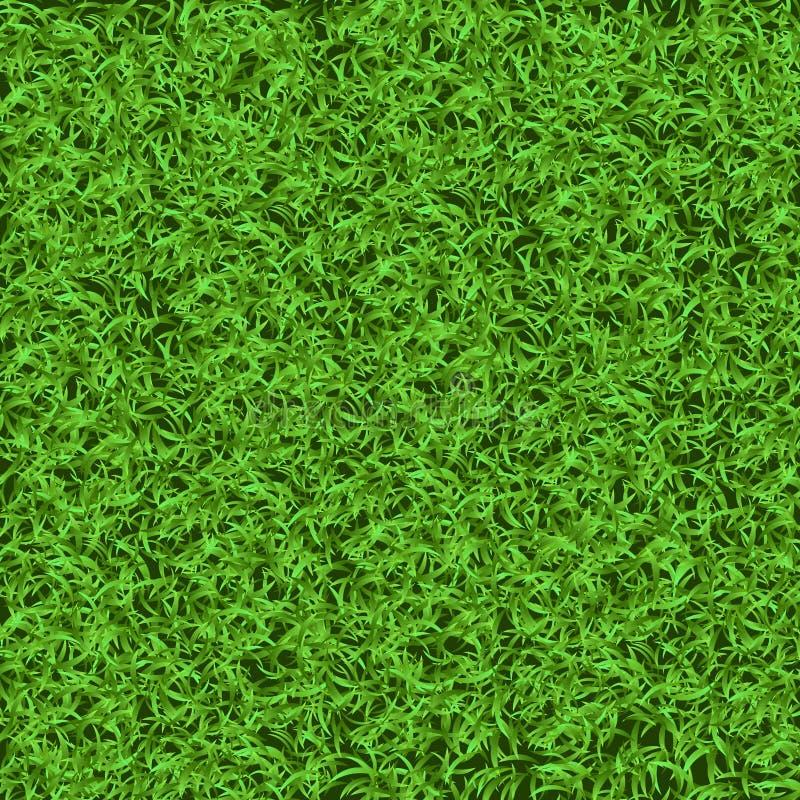 Sömlös textur för grönt gräs Sömlöst i endast horisontalmått royaltyfri foto