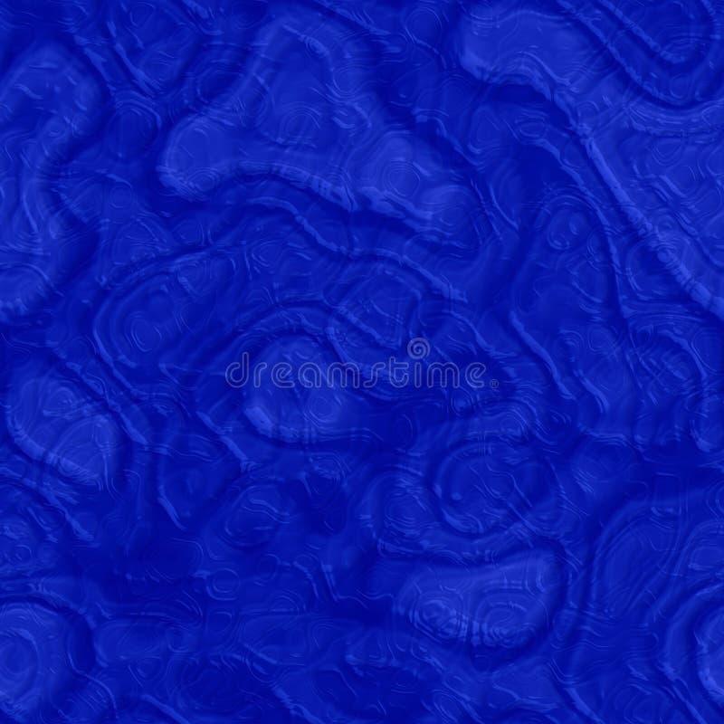 Sömlös textur för härligt blåttabstrakt begrepp av plast- exponeringsglas royaltyfri illustrationer