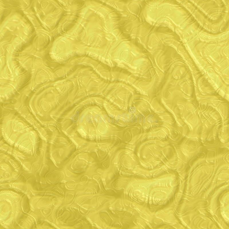 Sömlös textur för härligt gulingabstrakt begrepp av plast- exponeringsglas stock illustrationer