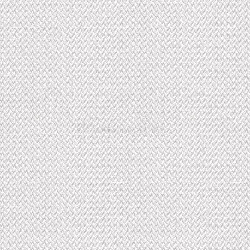 Sömlös textur för vitt tyg Texturöversikt för 3d och 2d royaltyfri bild