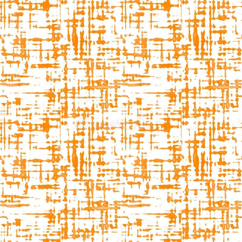 Sömlös textur på genomskinlig bakgrund Efterföljdvävtyg, pappers- tapet stock illustrationer