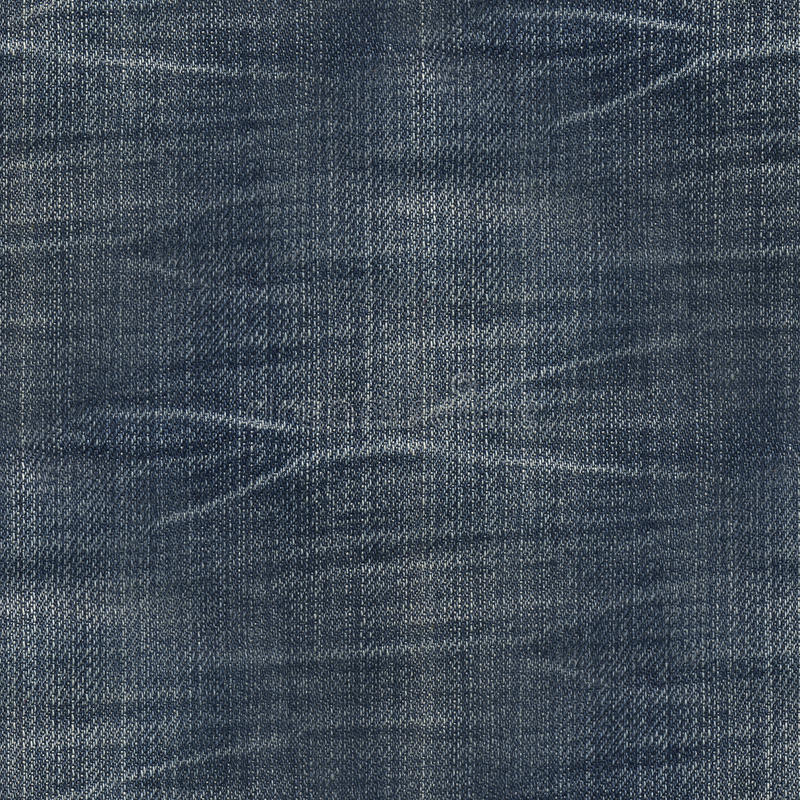 Sömlös texturjeans arkivfoto