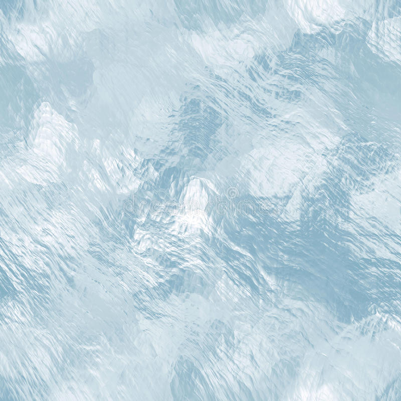 Sömlös tileable istextur djupfryst vatten royaltyfria foton