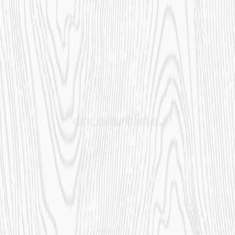 Sömlös trädtextur för vit vektor Mall för illustrationer, affischer, bakgrunder, tryck, tapeter EPS10 arkivfoton