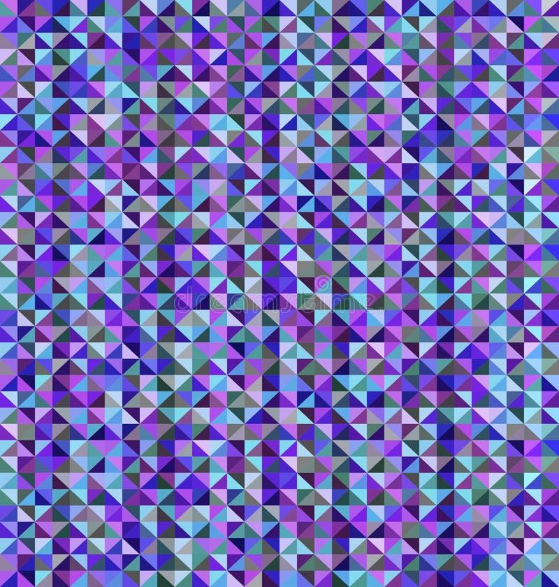 Sömlös triangelmodell stock illustrationer
