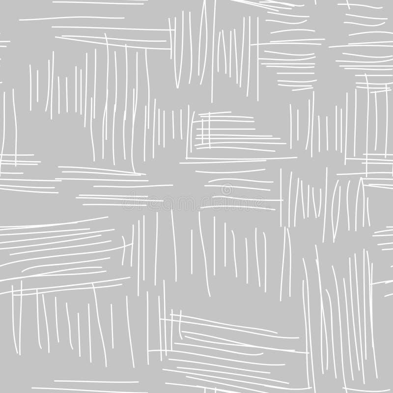 Sömlös vektormodell för abstrakt grå stuckatur royaltyfri illustrationer