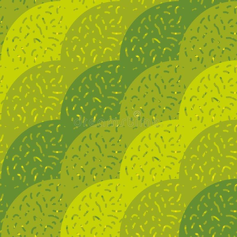 Sömlös vektormodell med openwork krabba diagonala band royaltyfri illustrationer