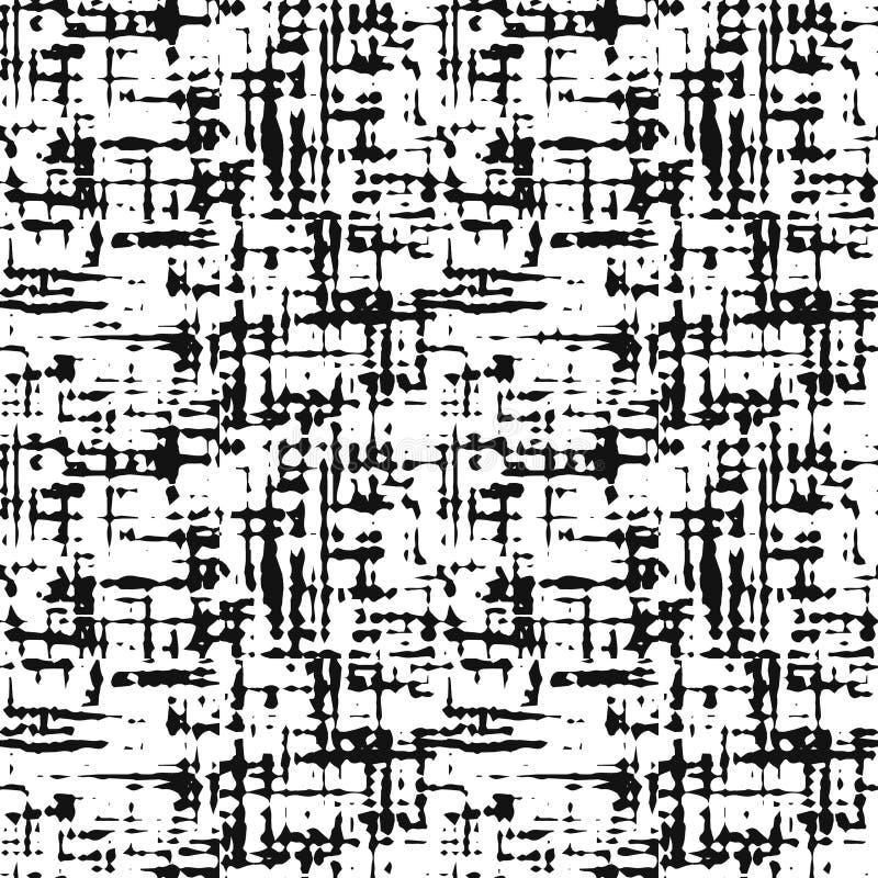 Sömlös vektortextur på genomskinlig bakgrund Efterföljdvävtyg, pappers- tapet vektor illustrationer