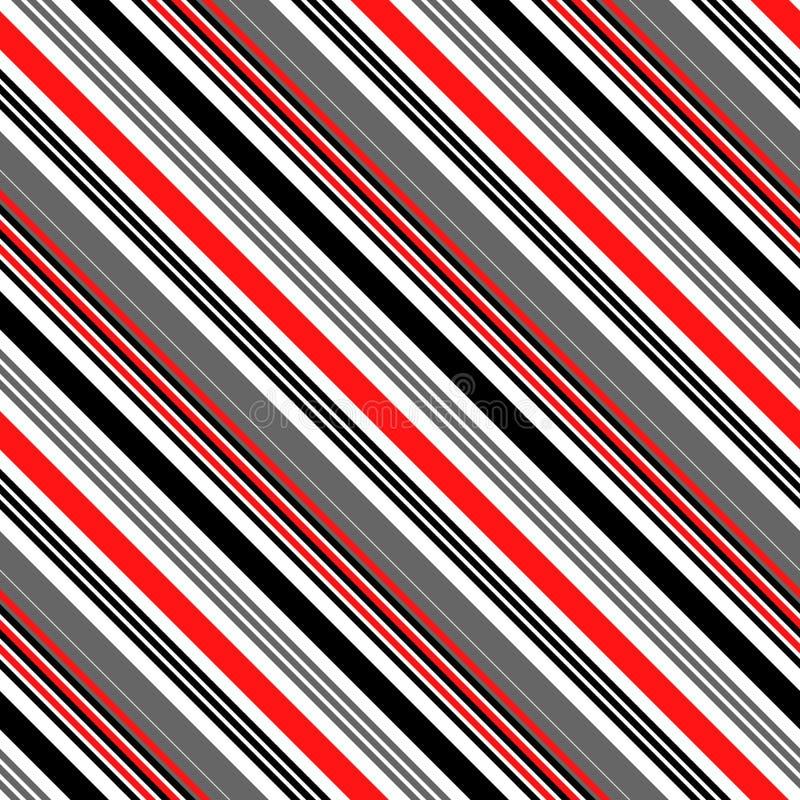 Sömlös vertikal linje bakgrund Minsta design för inpackningspapper Abstrakt vektortextur royaltyfri illustrationer