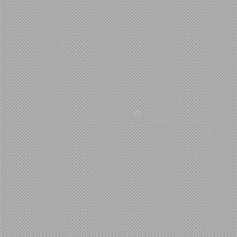 Sömlösa ändlösa oändliga mycket lilla Gray Dots Points Pattern Filling Up utrymmet Idérik bakgrundsidé för textil och stock illustrationer