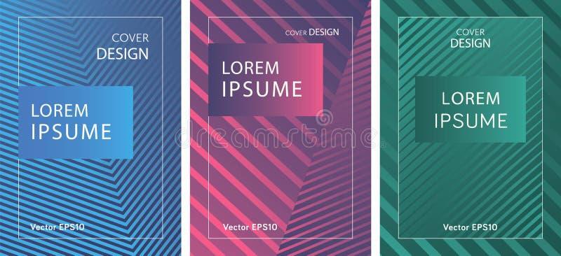 Sömlösa abstrakta geometriska prydnadfästingar vektor illustrationer