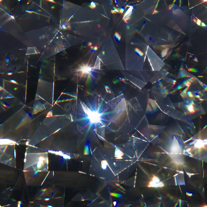 Sömlösa diamantmakrotrianglar arkivbilder