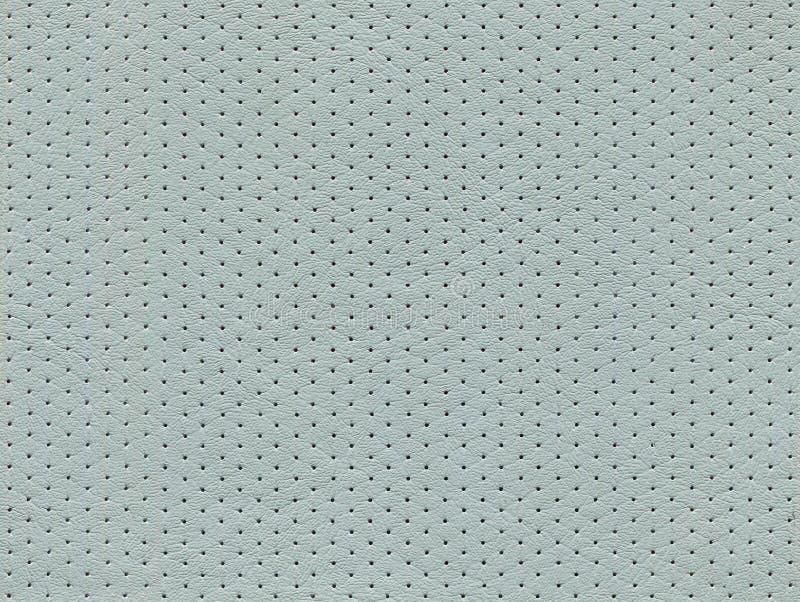 Sömlösa grå färger perforerad lädertextur arkivfoton