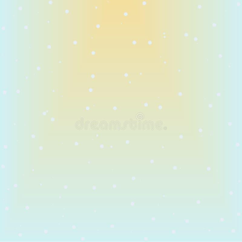 Sömlöst abstrakt snömodellraster stock illustrationer