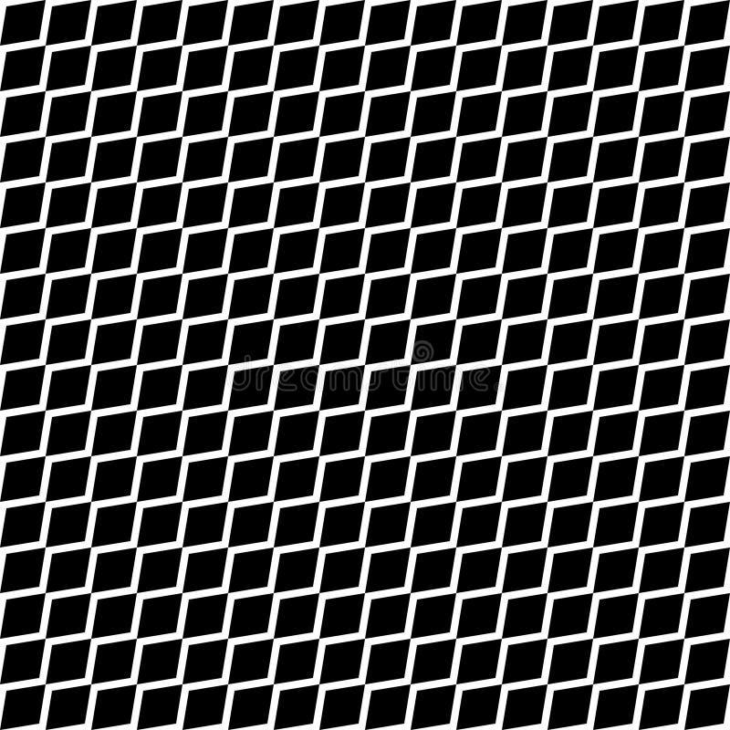 Sömlöst bundit förtjäna staket Enkel svart bakgrund på den vita vektorillustrationen buktade krabbt vektor illustrationer