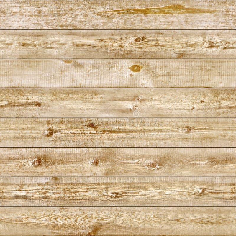 Sömlöst ljust gult trä arkivfoto