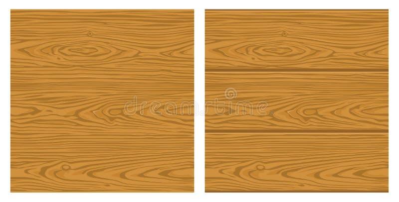 Sömlöst modellbruntträ Monokrom illustration f?r vektor f?r etikett stock illustrationer