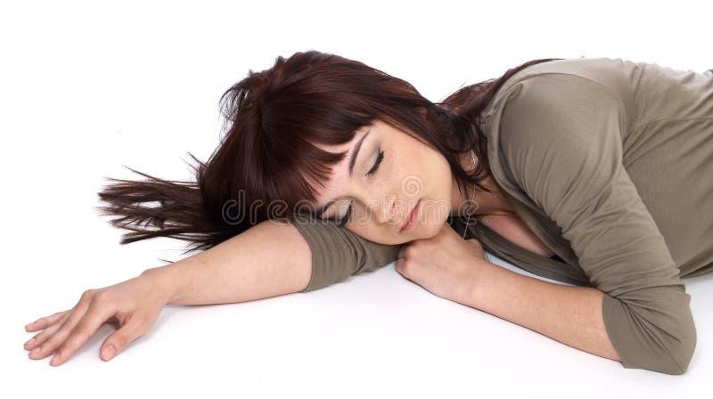 sömn royaltyfri bild