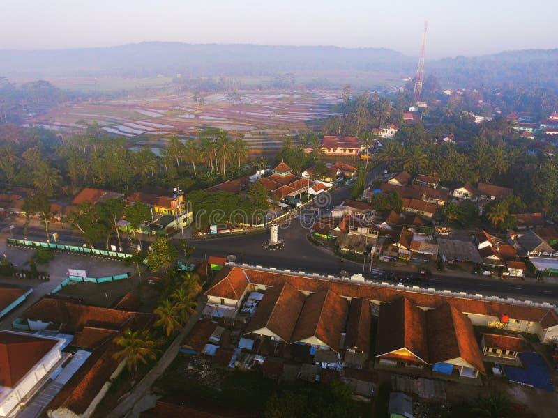 söndag i Maron Loano Purworejo Indonesien royaltyfri fotografi