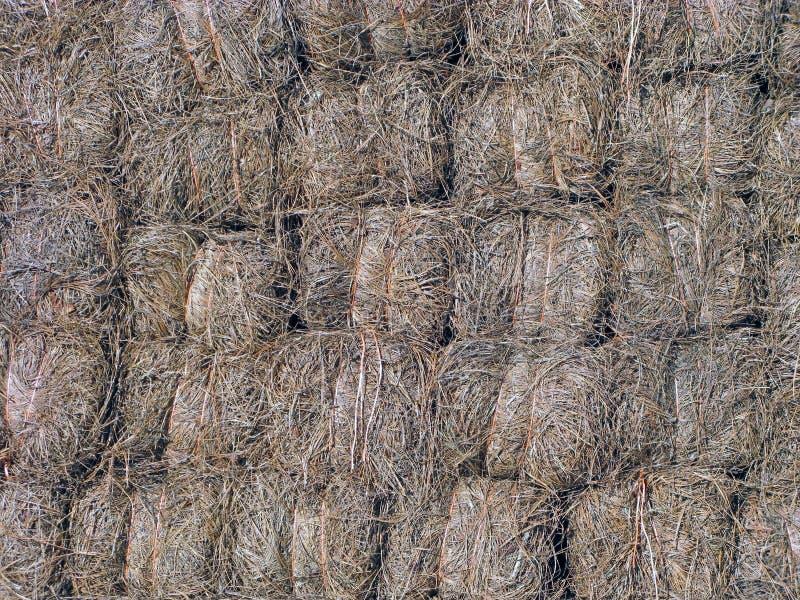 Sörja Straw Bales arkivbilder