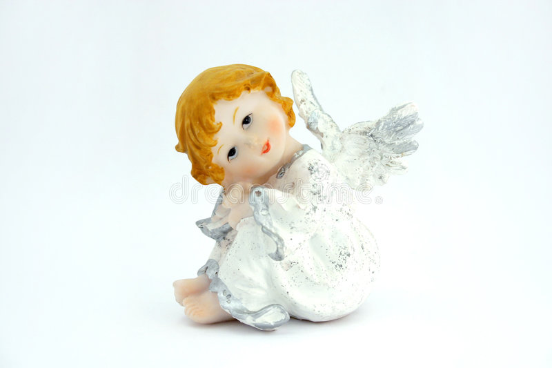 söt ängel royaltyfria bilder