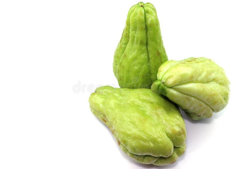 Söt grönsak för Chayote royaltyfria foton