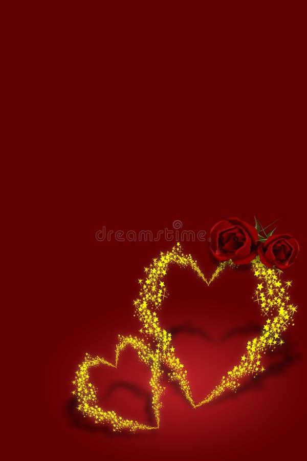 söt valentin stock illustrationer