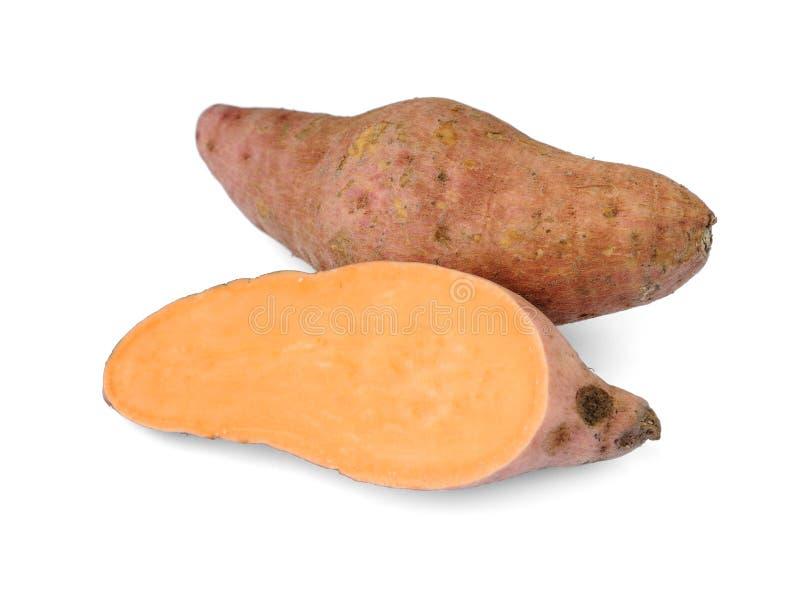 söta batatasipomoeapotatisar arkivfoton