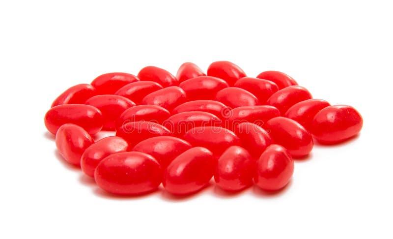 Söta färgrika godisar för gelébönor royaltyfri bild