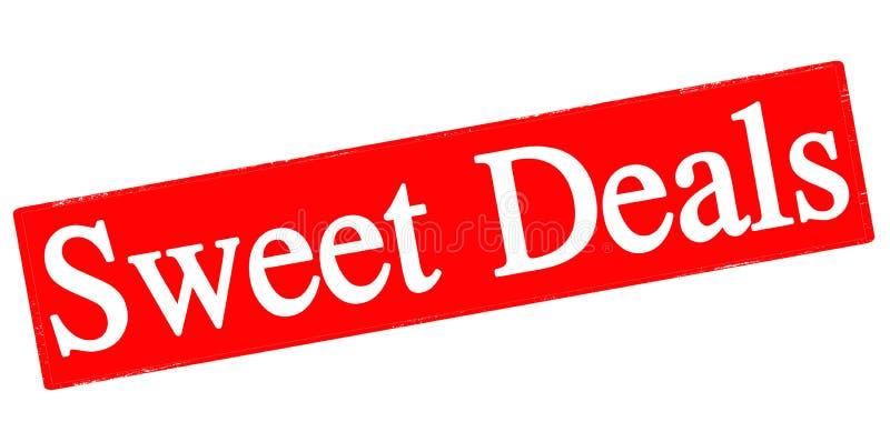 Süße Angebote lizenzfreie abbildung