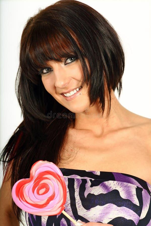 Süße Frau lizenzfreie stockbilder