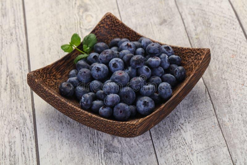 Süße geschmackvolle Blaubeere lizenzfreies stockfoto
