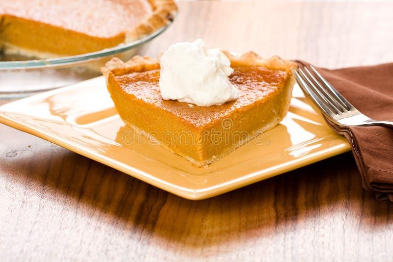Süße Kartoffel-Torte stockfoto