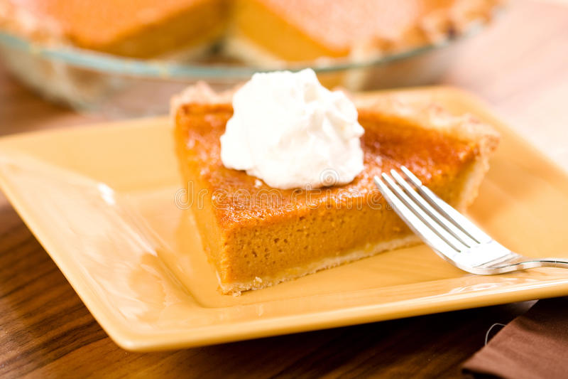 Süße Kartoffel-Torte stockfotografie
