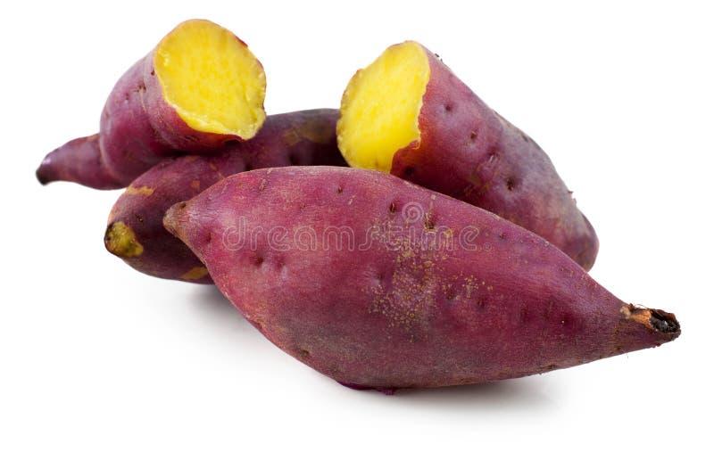 Süße Kartoffeln lizenzfreie stockbilder