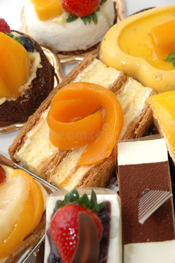 Süße Kuchen lizenzfreies stockfoto
