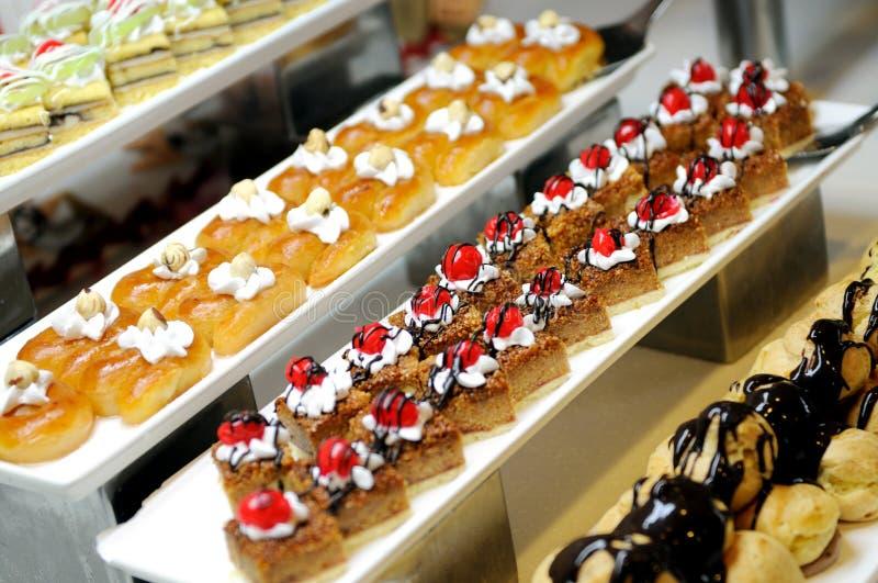 Süße Kuchen lizenzfreie stockbilder