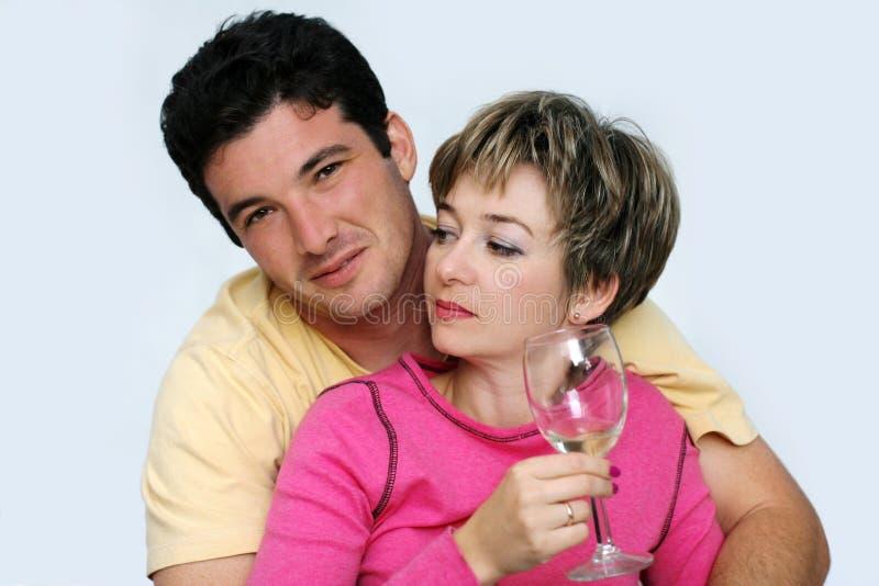 Süße Paare lizenzfreies stockfoto