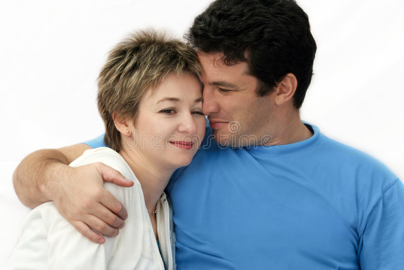 Süße Paare lizenzfreie stockfotografie