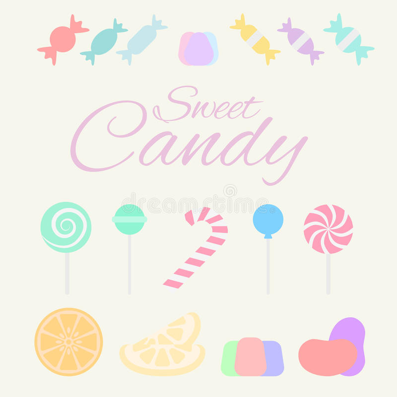 Süße Süßigkeit stockfotos