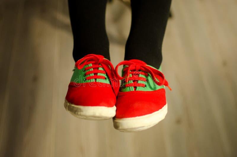 Süße Schuhe lizenzfreie stockbilder