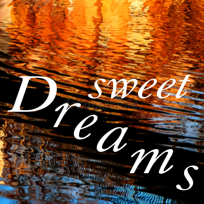 Süße Träume lizenzfreie stockfotografie