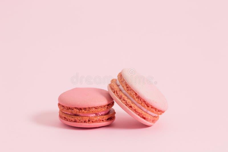 Süße und bunte französische Makronen stockfoto