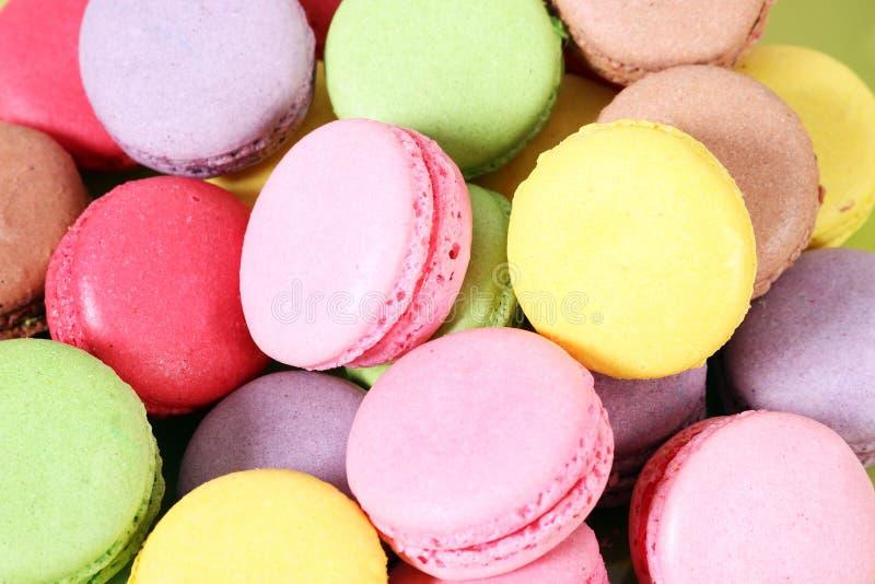 Süßer Kuchen der Makronen stockfoto