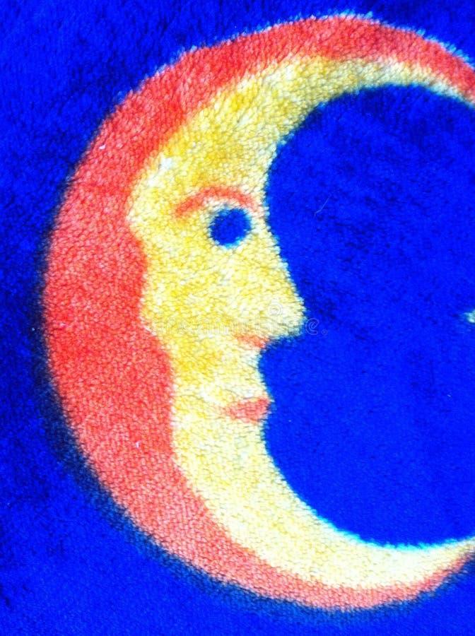 Süßer Mond lizenzfreies stockfoto