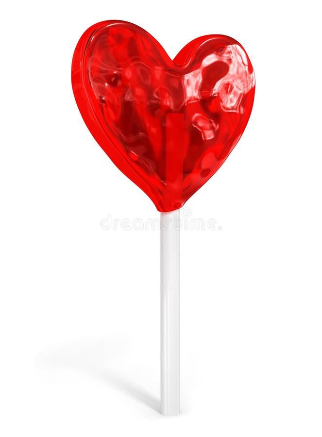 Süßer Süßigkeitinnerideen-Liebes-Valentinstag lizenzfreie abbildung