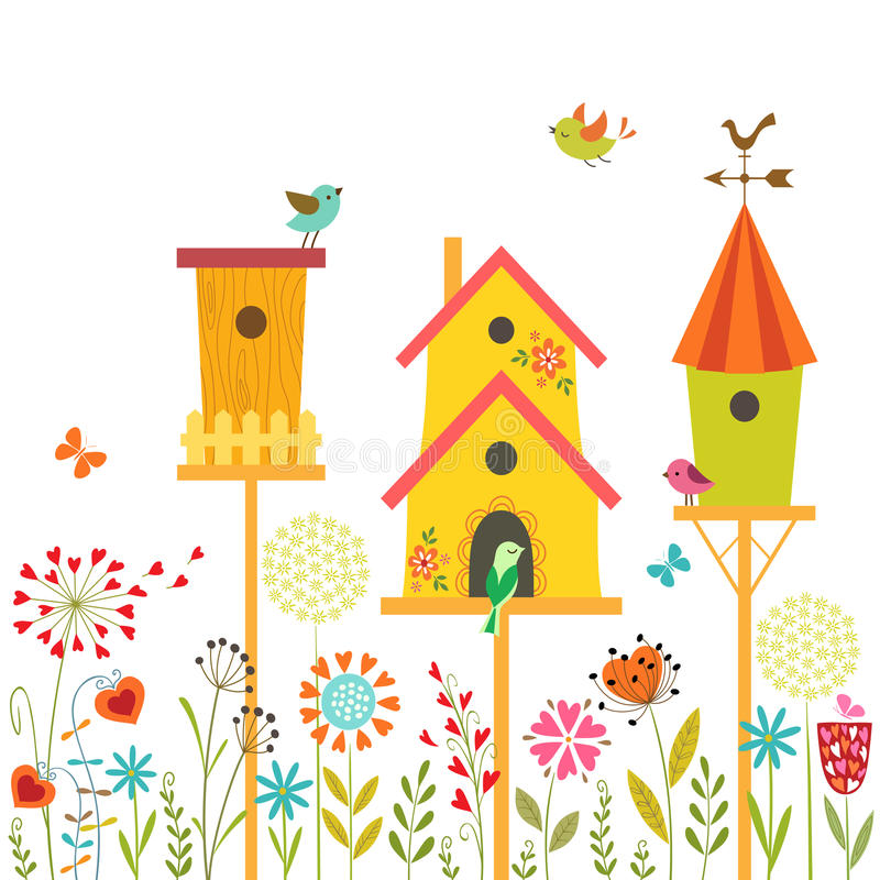 Süßes Haus vektor abbildung