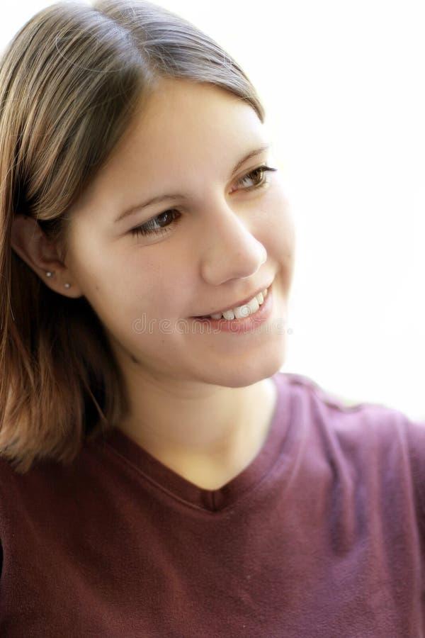 Süßes junges Mädchen lizenzfreies stockbild