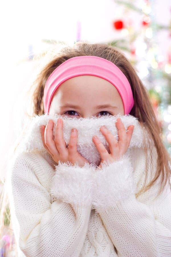 Süßes kleines Mädchen stockfoto
